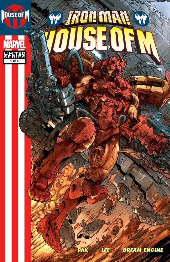 Железный Человек: Дом М #1 – День отцов, Iron Man: House of M (2005) #1, комиксы железный человек читать онлайн