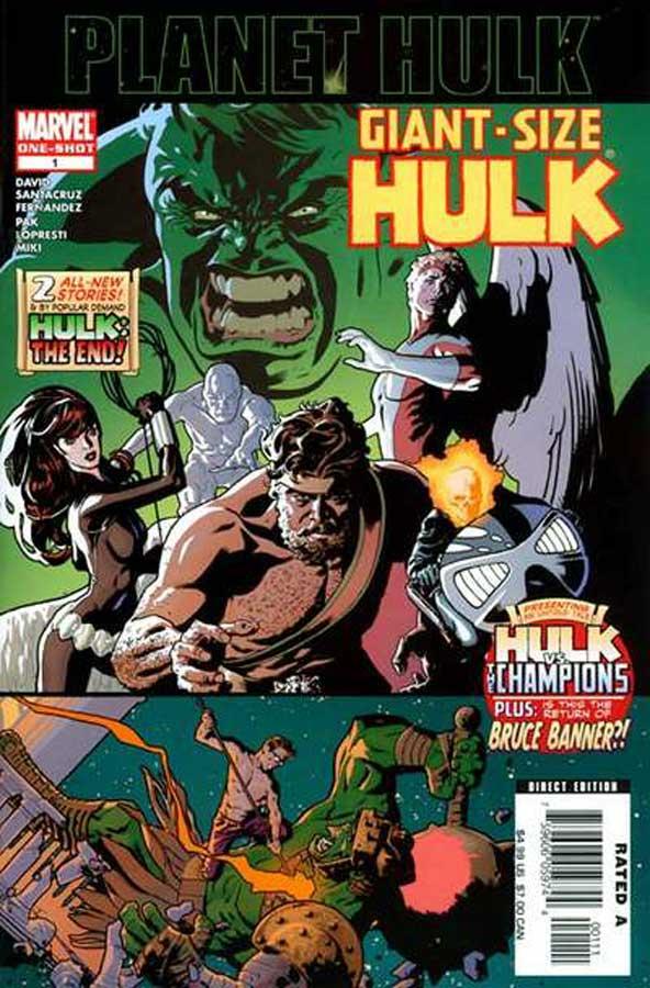Giant-Size Hulk / Громадный Халк, читать комиксы, комиксы Халк Марвел