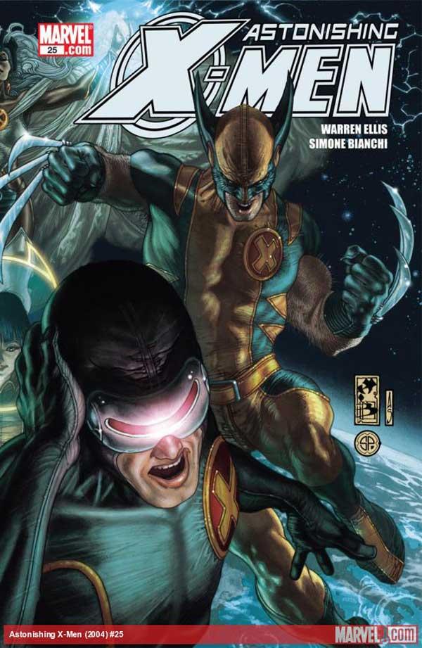 Поразительные Люди Икс #25, онлайн читать комиксы, комиксы про мутантов