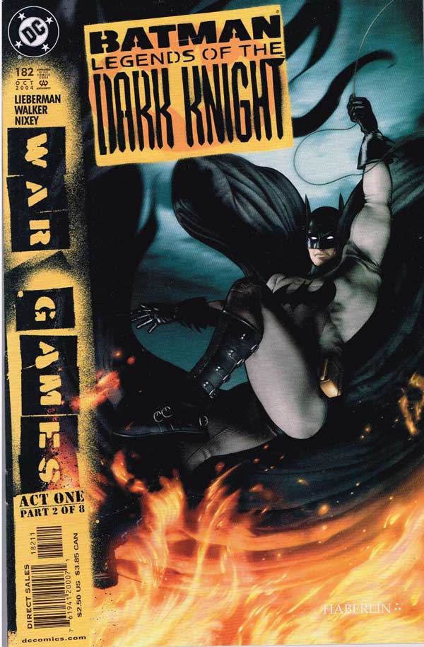 Batman: Legends of the Dark Knight Vol 1 182,Легенды о темном рыцаре #182, читать онлайн, комиксы бесплатно читать, комиксы на русском
