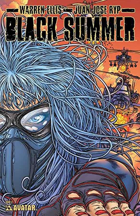 Черное Лето №3 (Black Summer #3), читать онлайн комиксы