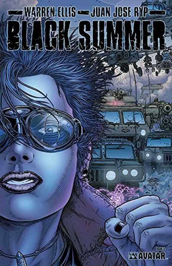 Черное Лето №5 (Black Summer #5), читать онлайн комиксы
