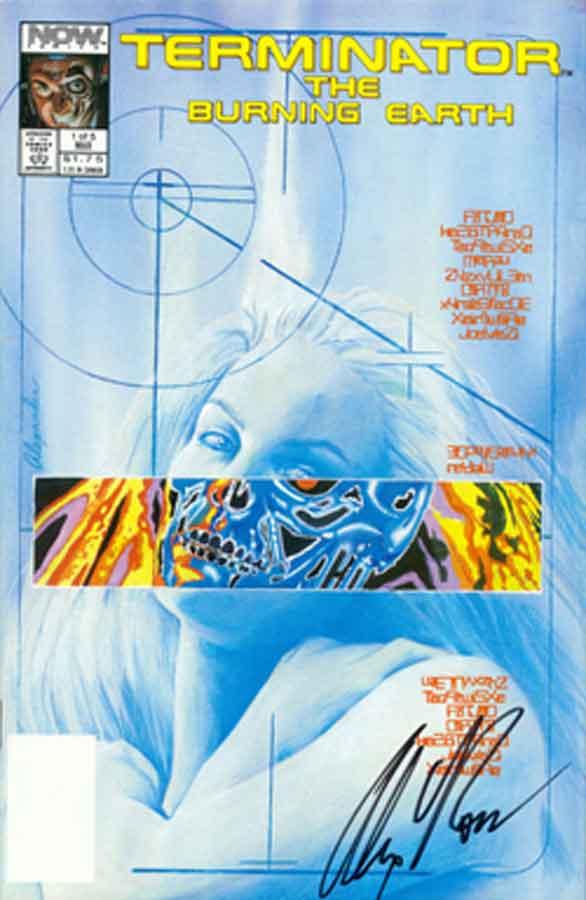Terminator: The Burning Earth, Терминатор. Пылающая Земля #1, читать комиксы терминатор, комиксы онлайн