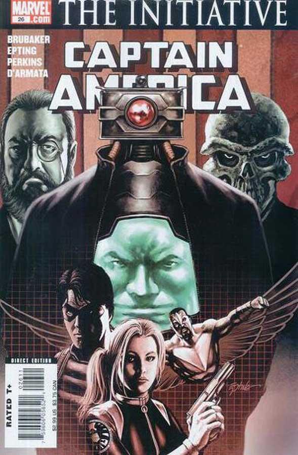 Captain America (2004) #26, онлайн читать комиксы, комиксы онлайн бесплатно, капитан америка комикс