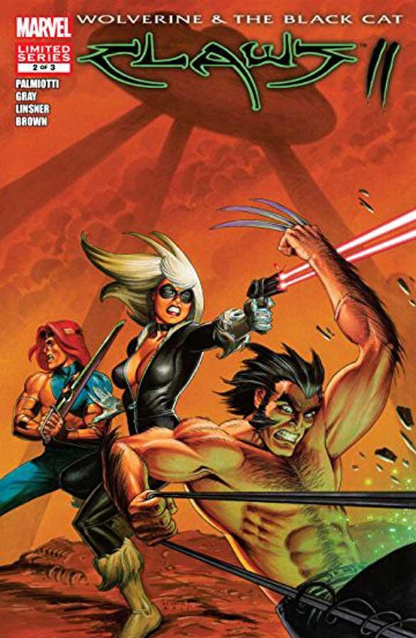 комиксы россомаха и черная кошка, Росомаха и Черная Кошка: Когти #2, читать комиксы онлайн