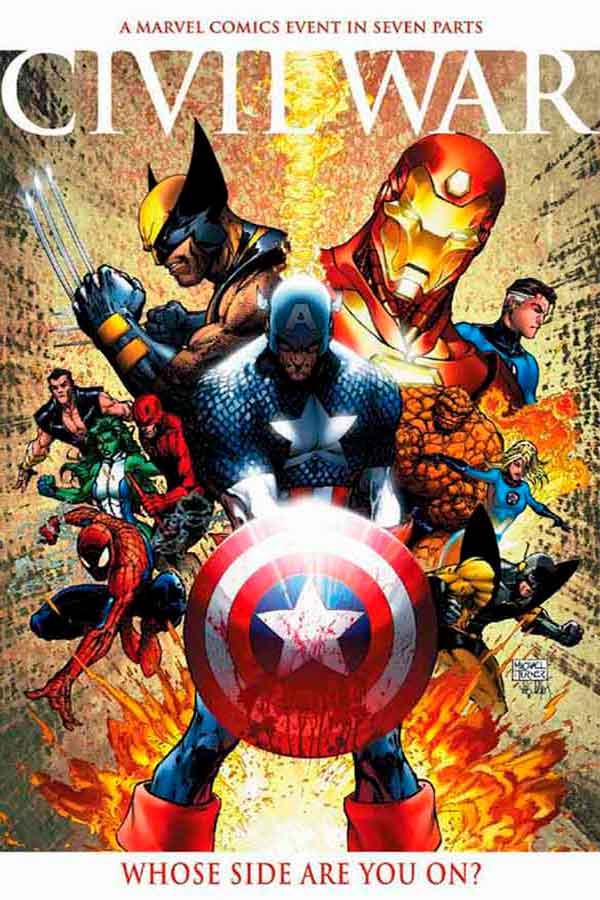 Комикс Гражданская Война #1 скачать/читать онлайн