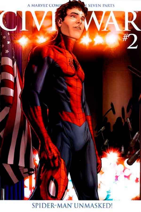 Комикс Гражданская Война #2 скачать/читать онлайн