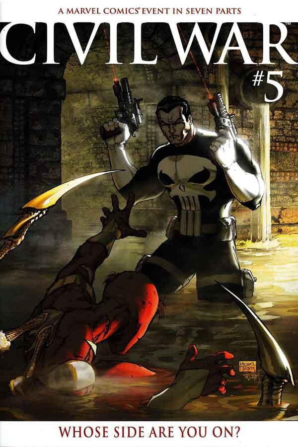 Civil War Vol 1 #5, комикс гражданская война, читать гражданская война, ciwil war comics, альтернативная обложка