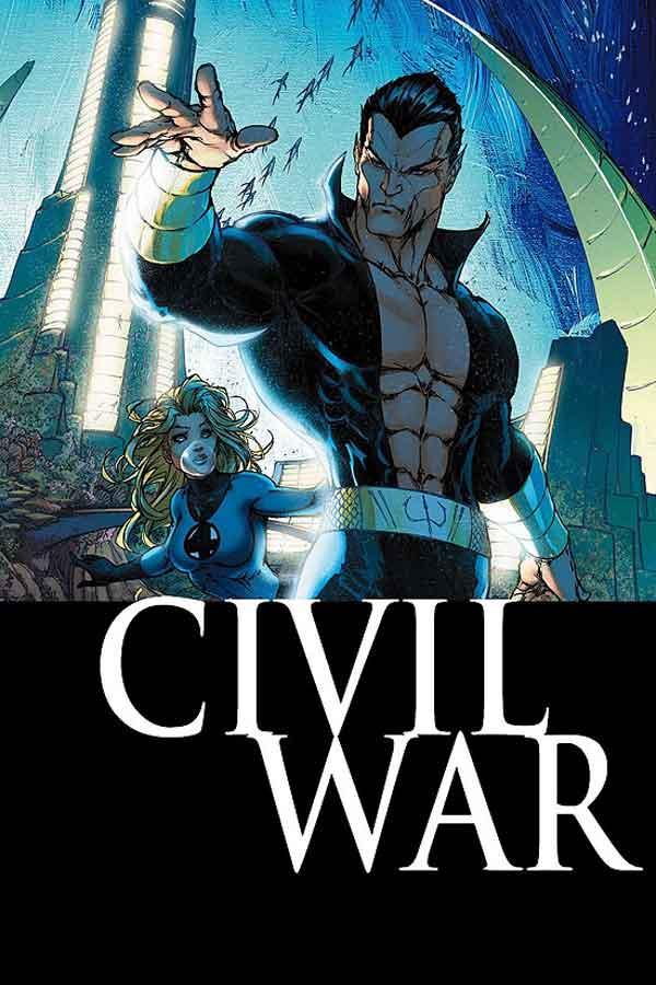 Civil War Vol 1 #6, комикс гражданская война, читать гражданская война, ciwil war comics, альтернативная обложка