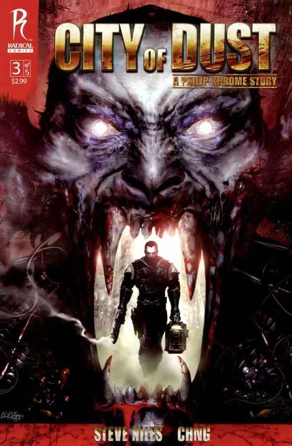 City of Dust: A Philip Khrome Story 3, Город из праха: История Филипа Крома #3, читать комиксы онлайн на русском