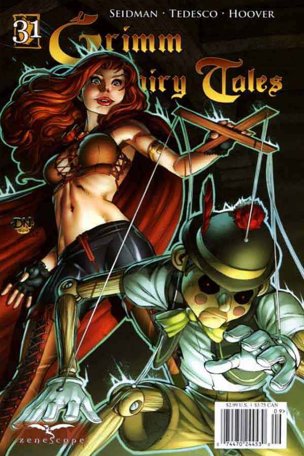 Grimm Fairy Tales #31, Сказки Гримм #31. Пиноккио, часть первая, комиксы читать онлайн