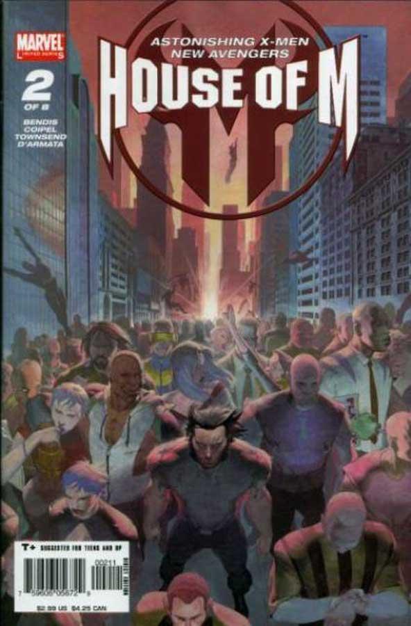 House of M #2, День М 2, комиксы марвел читать онлайн