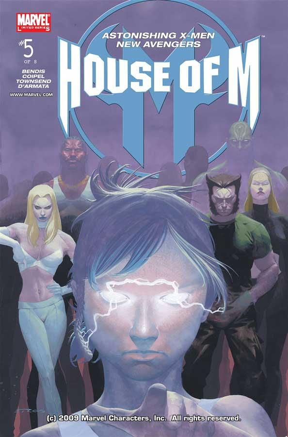 House of M #5, День М 5, комиксы марвел читать онлайн