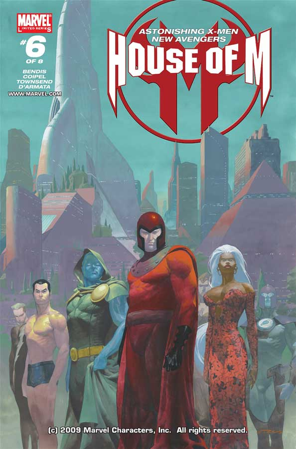 House of M #6, День М 6, комиксы марвел читать онлайн