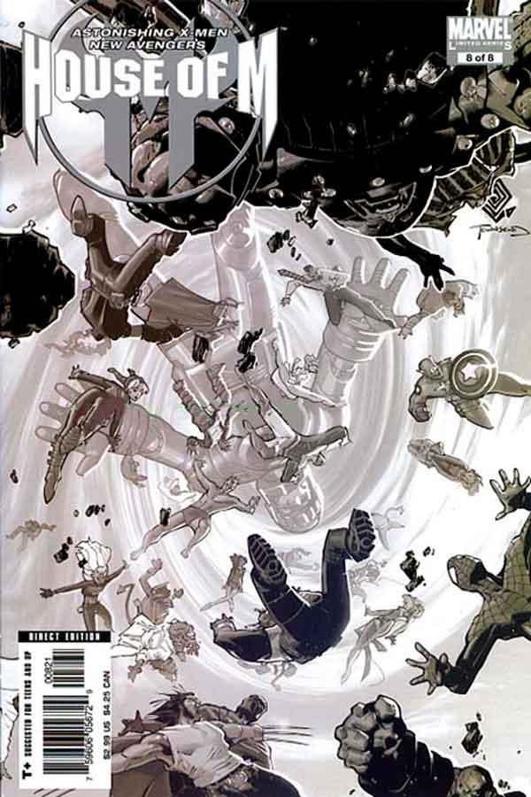 House of M #8 Династия М #8 читать скачать комиксы онлайн