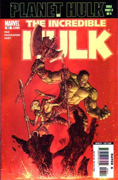Incredible Hulk Vol 2 #93, Невероятный Халк Том 2 #93 читать скачать комиксы онлайн