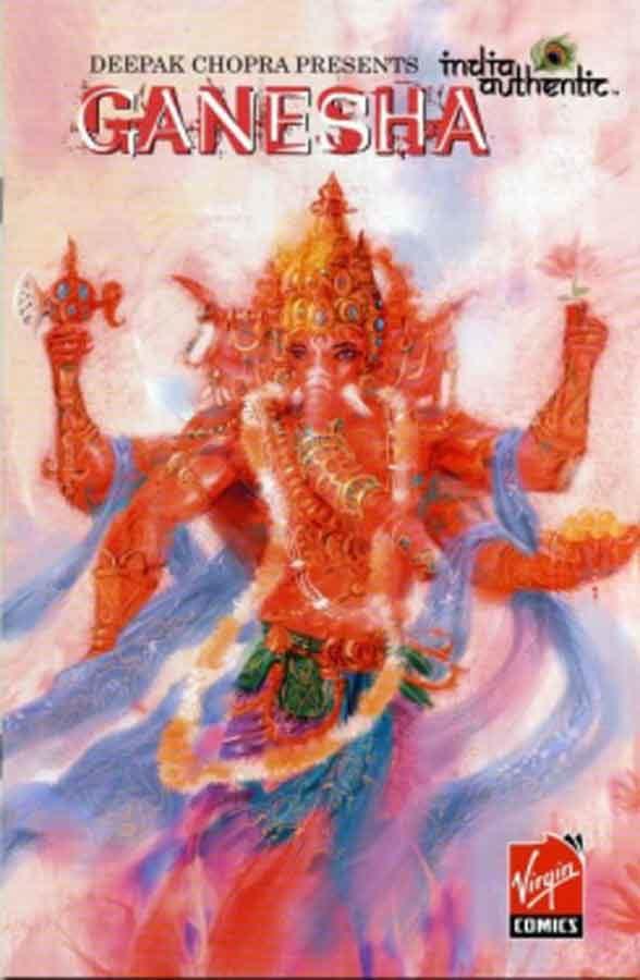 India Authentic #1: Ganesha, Индия по-настоящему. Ганеша, комиксы онлайн