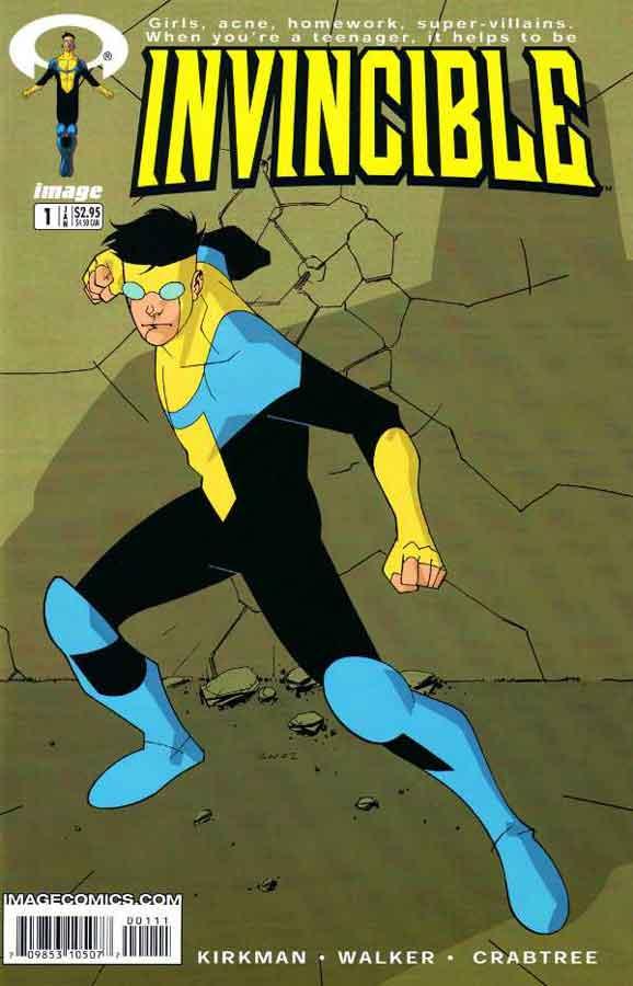 Неуязвимый (Invincible) #1, читать комиксы онлайн