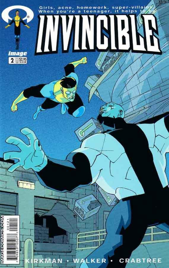 Неуязвимый (Invincible) #2, читать комиксы онлайн