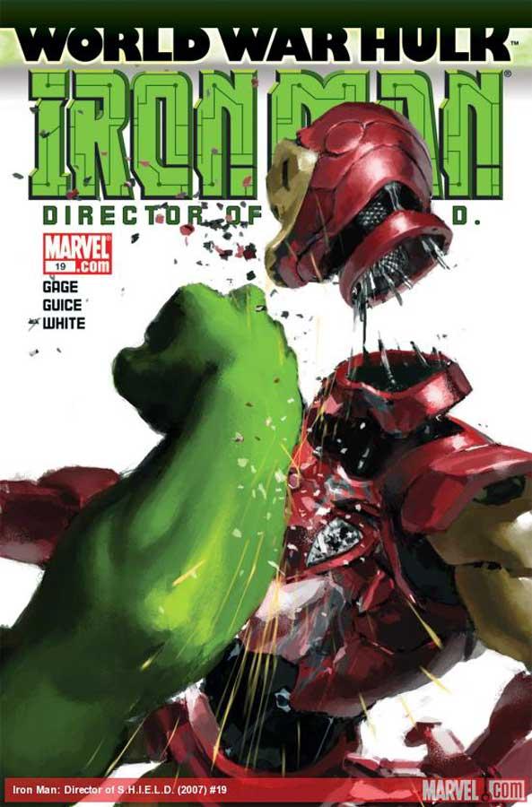 Iron Man: Director of S.H.I.E.L.D. (2007) #19, Железный Человек: Директор ЩИТа #19, читать комиксы онлайн