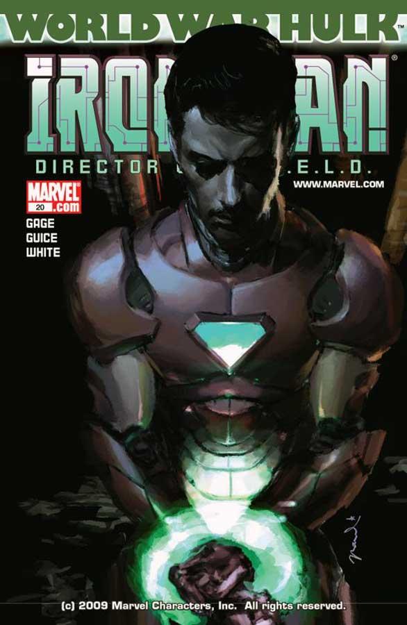 Iron Man: Director of S.H.I.E.L.D. (2007) #20, Железный Человек: Директор ЩИТа #20, читать комиксы онлайн