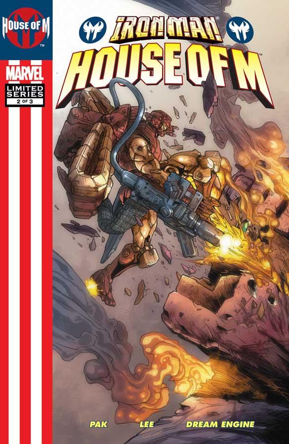 Железный Человек: Дом М #2, Iron Man: House of M (2005) #2, комиксы железный человек читать онлайн