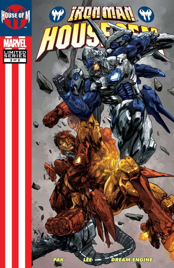 Железный Человек: Дом М #2, Iron Man: House of M (2005) #3, комиксы железный человек читать онлайн