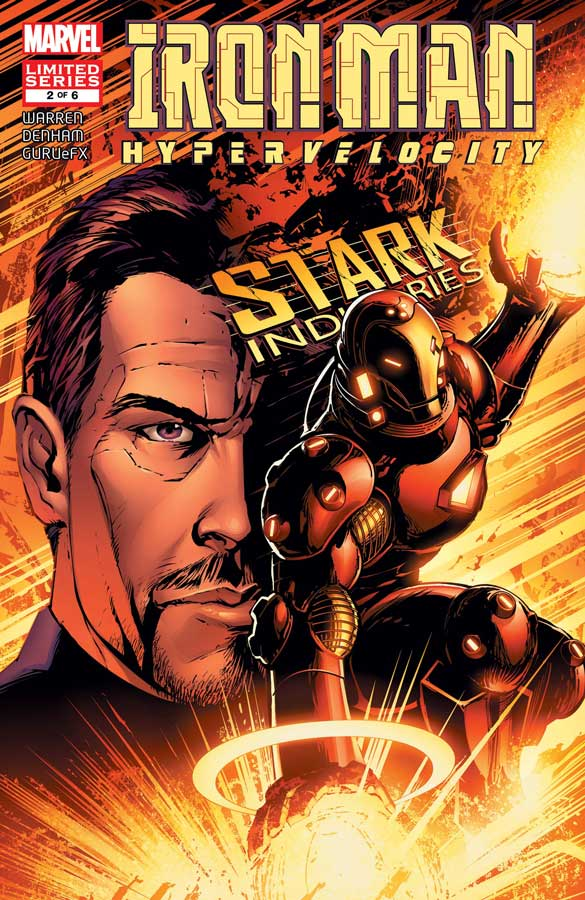 Iron Man: Hypervelocity (2007) #2, Железный Человек: Гиперскорость #2 читать комиксы онлайн