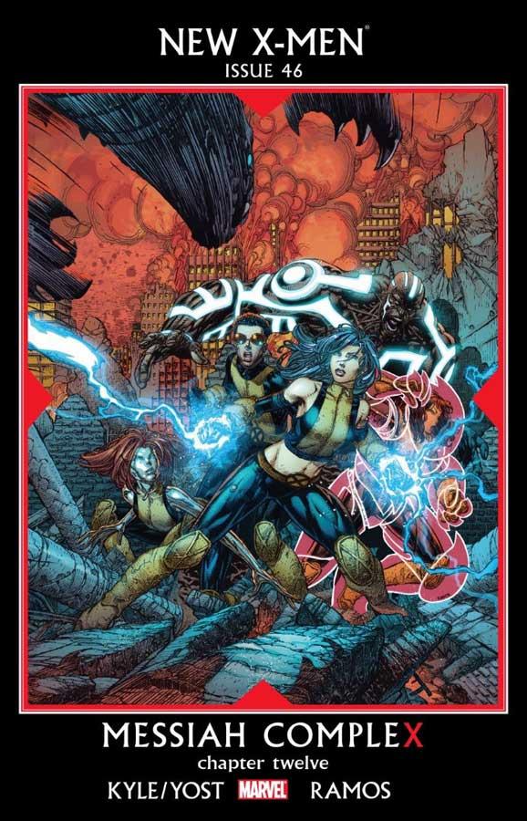 Новые Люди-Икс №46 (New X-Men #46), читать комиксы онлайн, марвел комиксы, люди-х