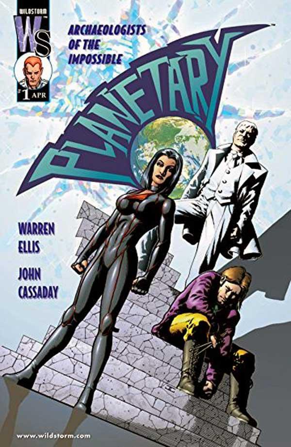 PLANETARY #1, читать комикс онлайн на русском, комиксы бесплатно читать, комиксы дс