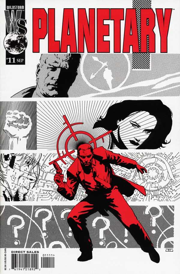 PLANETARY #11, читать комикс онлайн на русском, комиксы бесплатно читать, комиксы дс