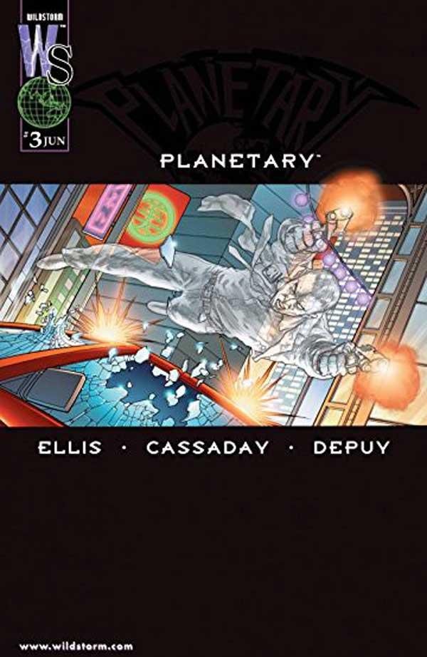 PLANETARY #3, читать комикс онлайн на русском, комиксы бесплатно читать, комиксы дс