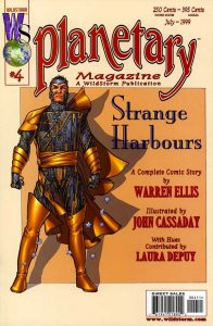 PLANETARY #4, читать комикс онлайн на русском, комиксы бесплатно читать, комиксы дс