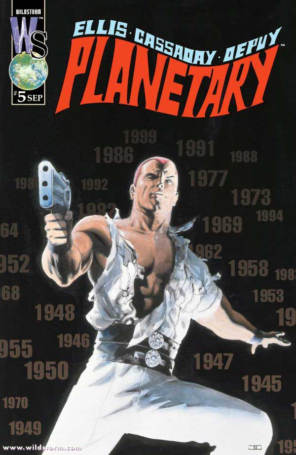 PLANETARY #5, читать комикс онлайн на русском, комиксы бесплатно читать, комиксы дс