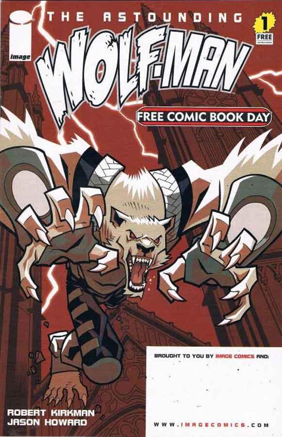The Astounding Wolf-Man #1, Поразительный Оборотень #1, читать комиксы