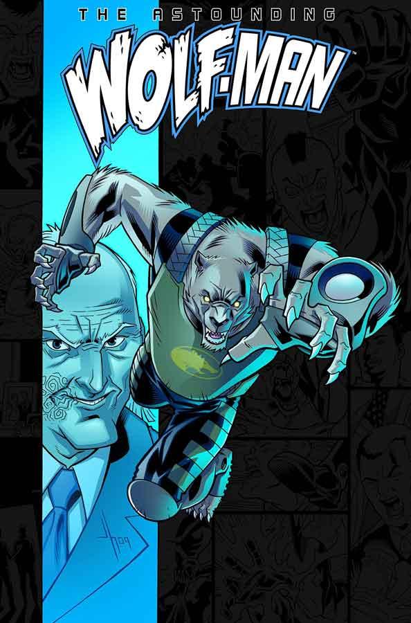 The Astounding Wolf-Man #2, Поразительный Оборотень #3, читать комиксы