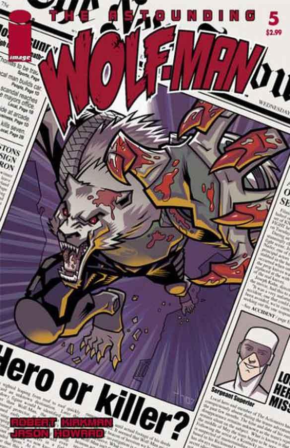 The Astounding Wolf-Man #2, Поразительный Оборотень #4, читать комиксы