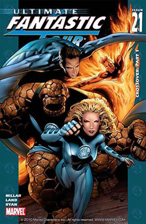 Ultimate Fantastic Four #21, комиксы фантастическая четверка читать онлайн