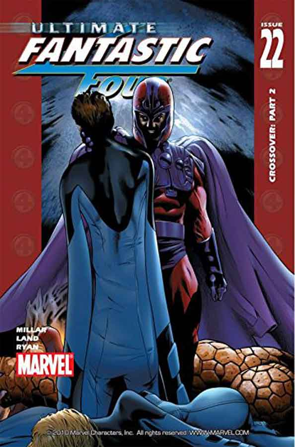 Ultimate Fantastic Four #22, комиксы фантастическая четверка читать онлайн