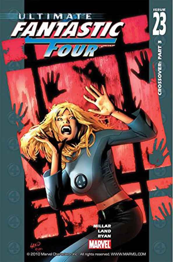 Ultimate Fantastic Four #23, комиксы фантастическая четверка читать онлайн