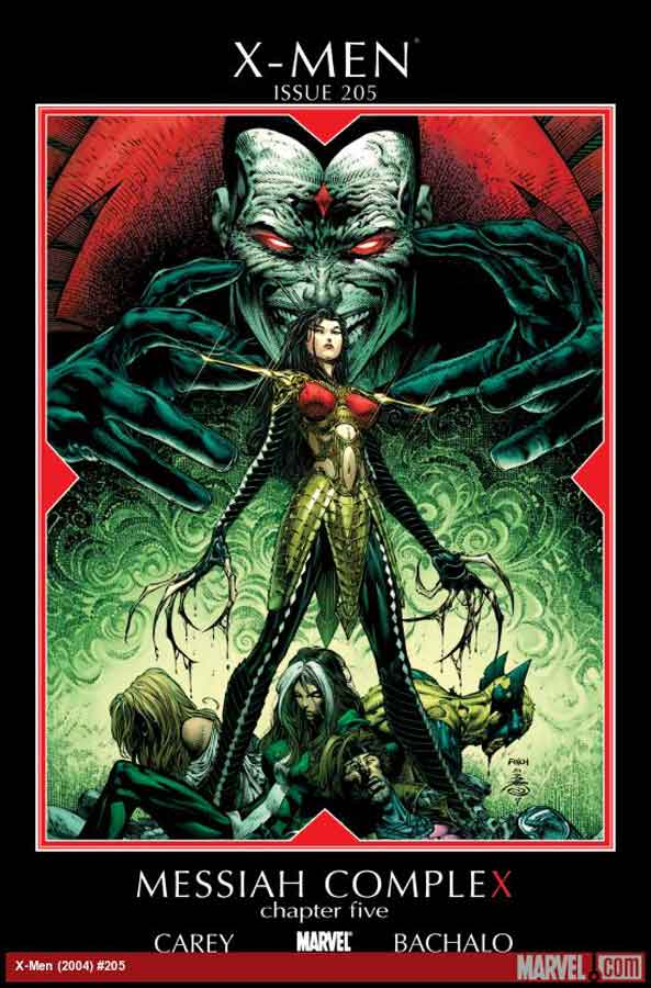 X-Men (2004) #205, Messiah CompleX, читать комиксы онлайн, комиксы марвел
