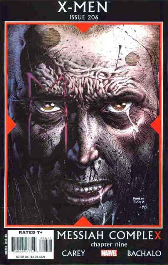X-Men (2004) #206, Messiah CompleX, читать комиксы онлайн, комиксы марвел