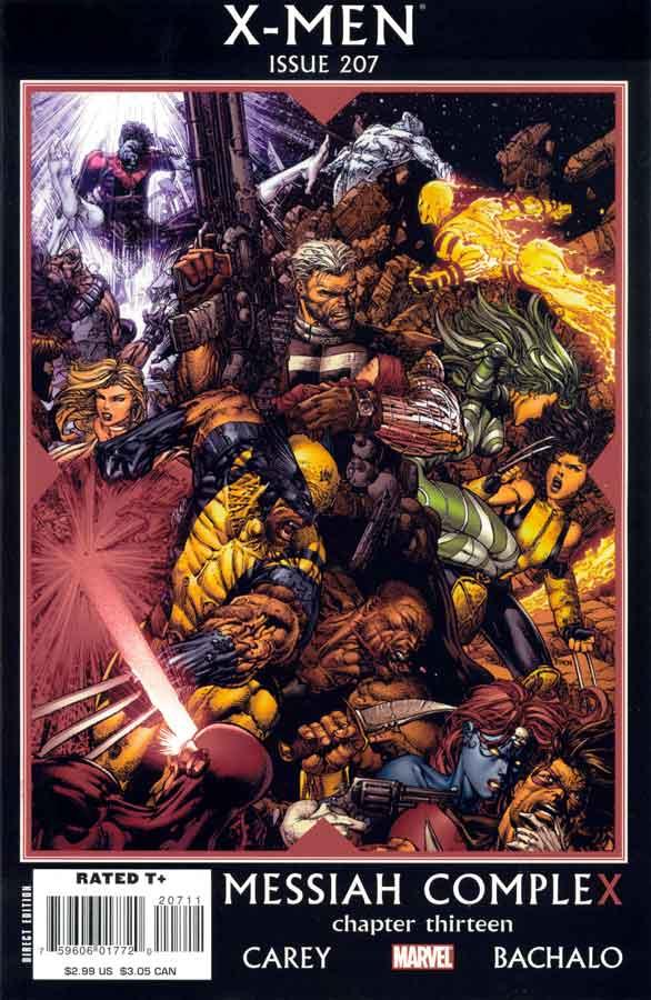 X-Men (2004) #207, Messiah CompleX, читать комиксы онлайн, комиксы марвел