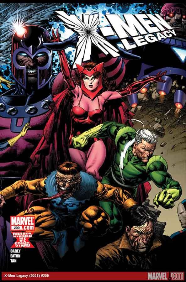 Люди-Икс: Наследие №209 (X-Men: Legacy #209), читать комиксы онлайн, комиксы марвел