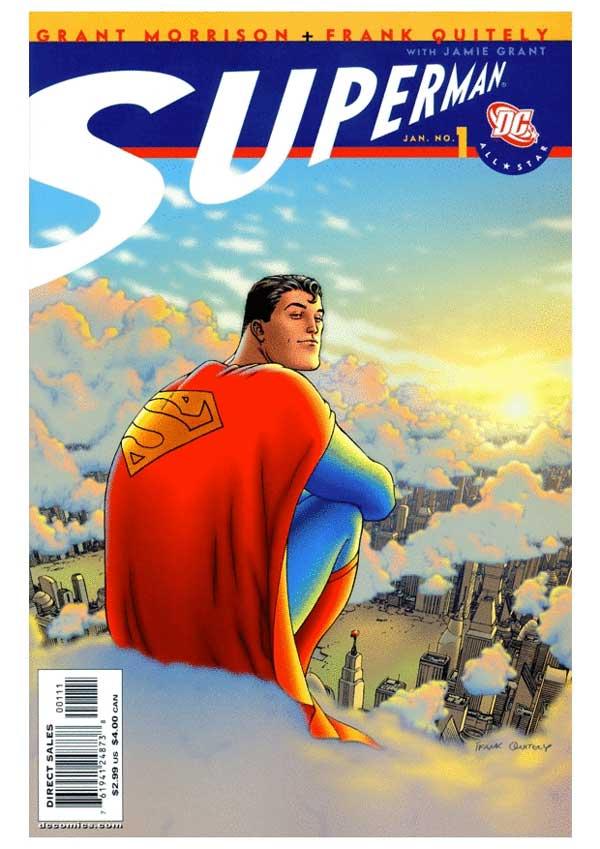all-star-superman #1, читать онлайн, комиксы бесплатно читать, комиксы на русском