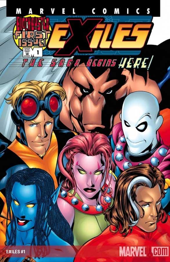 Exiles (2001) #1, комиксы марвел, Exiles #1: Вниз по кроличьей норе
