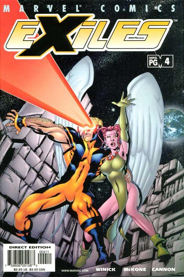Exiles (2001) #4, комиксы марвел, Exiles #4: Старые обиды, новые битвы, ч.2