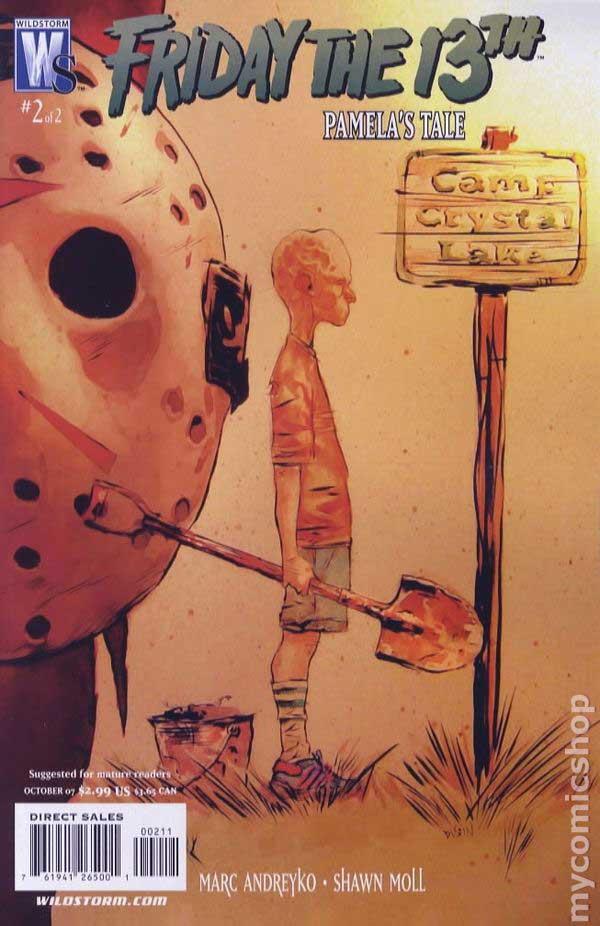 Friday the 13th: Pamela's Tale, комикс, читать онлайн, комиксы бесплатно читать