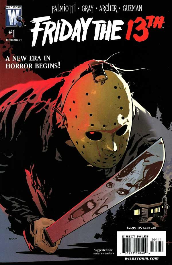 Friday the 13th, читать комикс онлайн, пятница 13-е