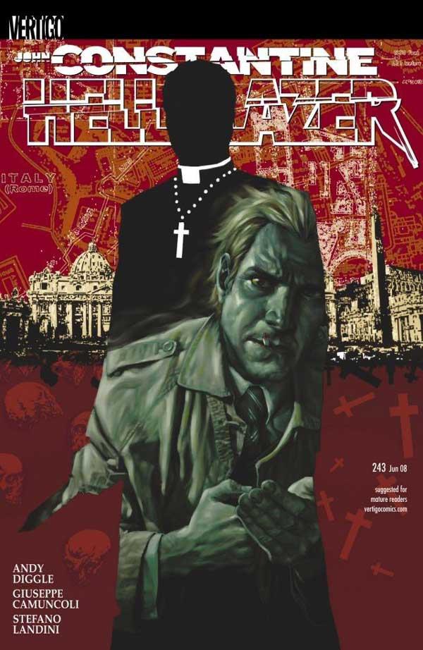 Hellblazer #243, читать онлайн, комиксы бесплатно читать, комиксы на русском онлайн бесплатно